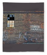 Customer Parking Fleece Blanket