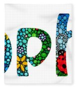 Customized Baby Kids Adults Pets Names - Sophia Name Fleece Blanket