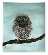 Cute Baby Owl Fleece Blanket