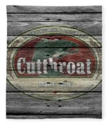 Cutthroat Pale Ale Fleece Blanket