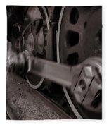 Cutting Through The Steam Fleece Blanket
