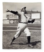Cy Young - American League Pitching Superstar - 1908 Fleece Blanket