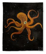 Cycloptopus Black Fleece Blanket