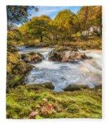Cyfyng Falls Fleece Blanket