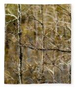 Cypress Branches Fleece Blanket