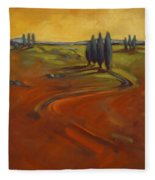 Cypress Hills 3 Fleece Blanket