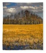 Cypress Marsh Fleece Blanket