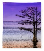 Cypress Purple Sky 2 Fleece Blanket