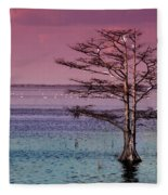 Cypress Purple Sky Fleece Blanket