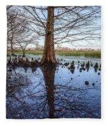 Cypress Reflections Fleece Blanket