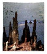 Cypress Roots Fleece Blanket
