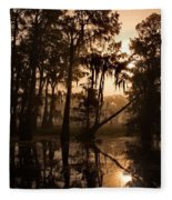 Cypress Sunrise Fleece Blanket