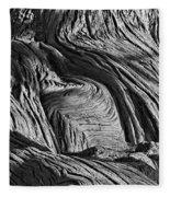 Cypress Tree Abstract Fleece Blanket