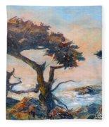 Cypress Tree Coast Fleece Blanket