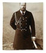 Czar Alexander IIi  Fleece Blanket