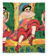 Czardas Dancers, 1908-20 Fleece Blanket