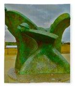 D-day Memorial For Juno Beach Heros Fleece Blanket