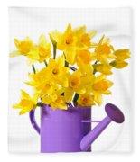 Daffodil Display Fleece Blanket