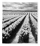 Daffodil Fields II Fleece Blanket