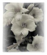 Daffodils Emerge Fleece Blanket