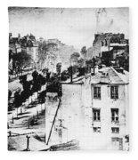 Daguerreotype, 1838 Fleece Blanket