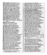 Daguerreotype Poem, 1843 Fleece Blanket