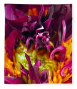 Dahlia Fairies Delight Fleece Blanket