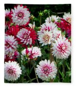 Dahlia Love Fleece Blanket
