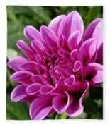 Dahlia Named Blue Bell Fleece Blanket