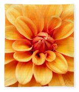 Dahlia Squared Fleece Blanket
