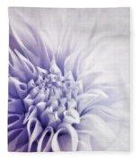 Dahlia Sun Fleece Blanket