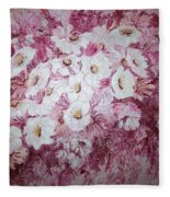 Daisy Blush Fleece Blanket