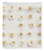 Daisy Collection Fleece Blanket