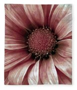 Daisy Daisy Blush Pink Fleece Blanket
