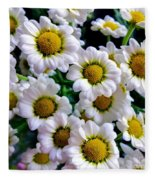 Daisy Daisy Fleece Blanket