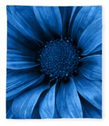 Daisy Daisy Pure Blue Fleece Blanket