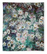 Daisy Dreamz Remix Fleece Blanket