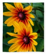 Daisy Duo Fleece Blanket