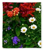 Daisy Field Fleece Blanket