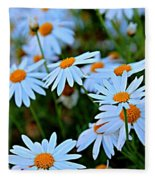 Daisy Fireworks Fleece Blanket