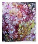 Daisy Mix   Sold Fleece Blanket