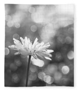 Daisy Rain Fleece Blanket