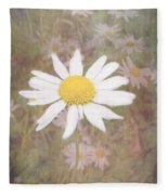 Daisy Textured Fleece Blanket