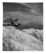 Dakota Air  Fleece Blanket