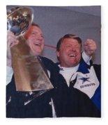 Dallas Cowboys 1992 National Football League Champions Fleece Blanket