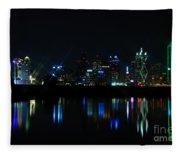 Dallas Reflections Fleece Blanket