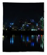 Dallas Reflections Fleece Blanket