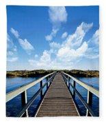 Dalmaney Bridge Fleece Blanket