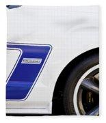 Dan Gurney 2009 Ford Mustang Fleece Blanket