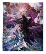 Dance In The Seas Fleece Blanket